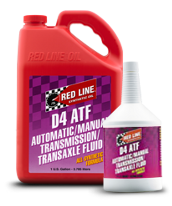 Red Line Dexron D4 ATF Transmission Fluid - Quart