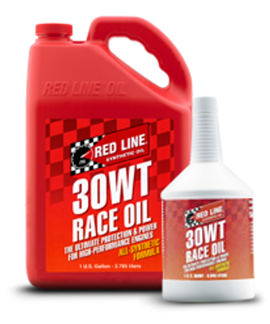 Red Line 100% Synthetic Race Engine Oil - 30WT (10W30)