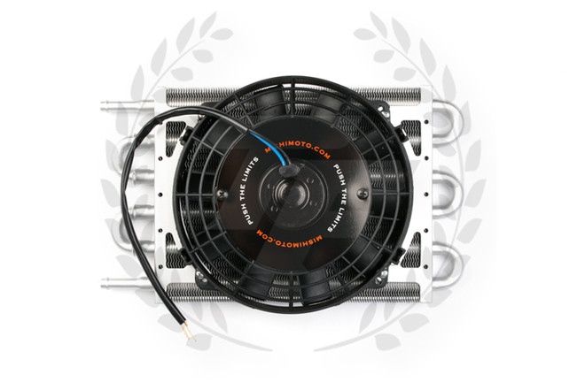 Mishimoto Heavy-Duty Transmission Cooler with Electric Fan