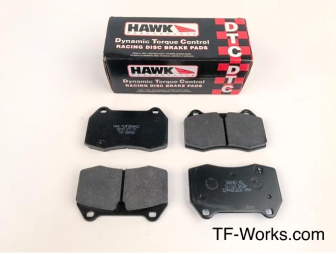 Hawk DTC-70 Brembo Front Brake Pad - 03-04 G35, 03-09 350Z Z33