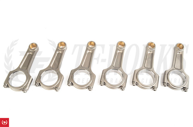 Manley I-Beam Turbo Tuff Connecting Rod Set of 6 - 03-07 G35, 03-06 Nissan 350Z