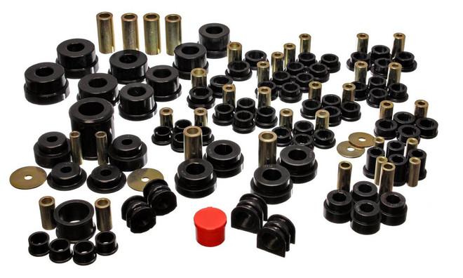 Energy Suspension Black Hyper-Flex System Kit - 03-07 Infiniti G35, 03-09 Nissan 350Z