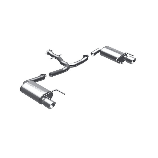 MagnaFlow Large Stainless Steel Performance Exhaust System Kit - 06-13 Lexus IS250