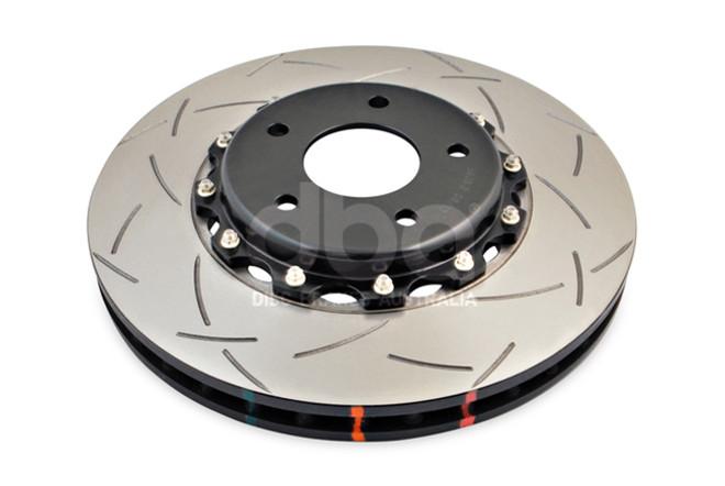 for 2009-2012 Nissan DBA Brake Rotor Slotted Rotor 4000 Series 42315BLKXS