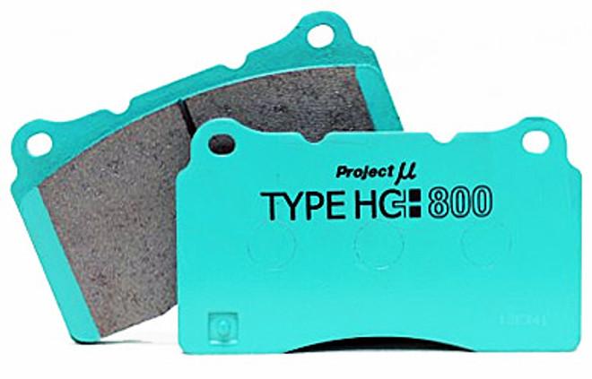 Project Mu HC+800 Brake Pads Nissan Skyline GTR R32 / R33 / R34 - Rear Brembo