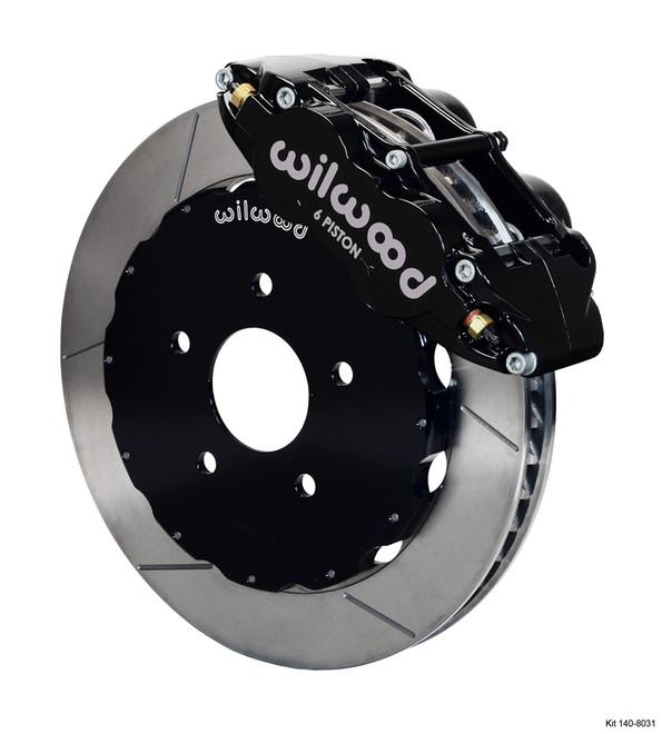 Wilwood Forged Narrow Superlite 4R Rear Big Brake Kit - 99-12 Subaru Impreza WRX / STI