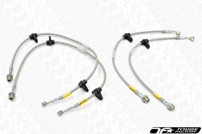 Goodridge Stainless Steel Brake Lines - S550 2015+ Ford Mustang GT / Ecoboost (All Models) - 12366