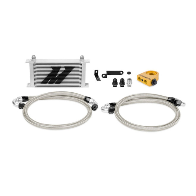 Mishimoto Thermostatic Oil Cooler Kit - 08-14 Subaru Impreza STI