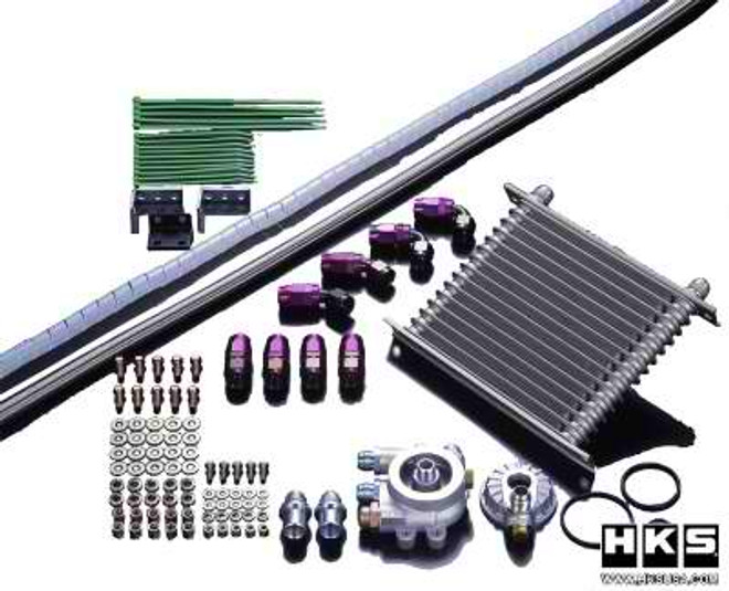 HKS S-Type Oil Cooler Kit - 08-14 Subaru Impreza STI