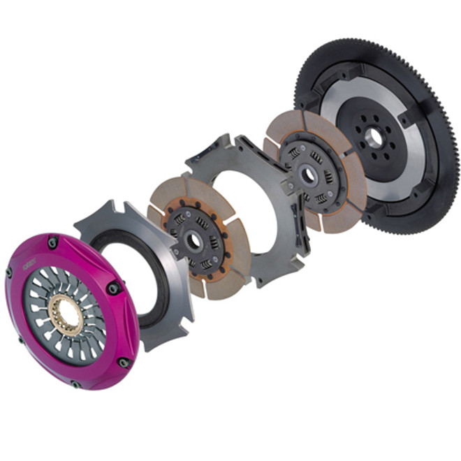 Exedy Racing Hyper Twin Clutch Kit  - 93-98 Toyota Supra