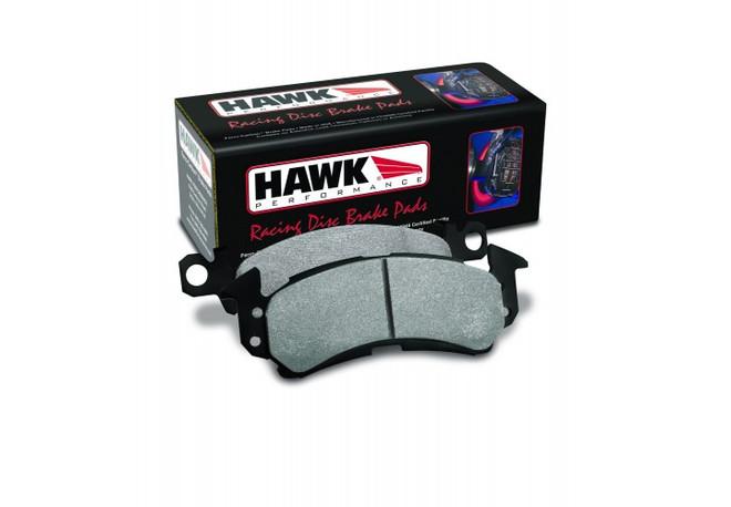 Hawk Performance Black Rear Brake Pad - 85-87 Toyota Corolla AE86