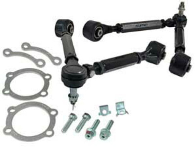 SPC Front Camber Kit Adjustable Control Arms - 02-07 Infiniti G35, 03-08 Nissan 350Z
