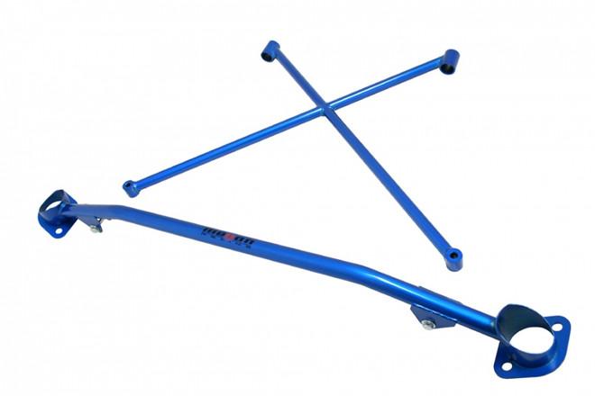 Megan Racing Blue Race-Spec Strut Tower Bars - 00-09 Honda S2000