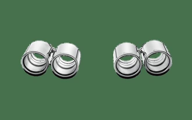 Akrapovic Tail pipe set (Titanium) - 11-15 BMW M5 (F10)