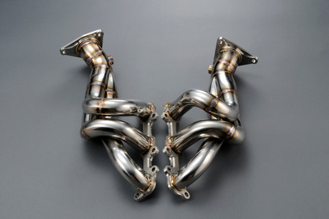 ASM Stainless Saclam Exhaust Manifold VQ35HR - Nissan 350Z / Z33