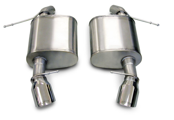 CORSA Sport Axle-Back Exhaust System - 07-12 BMW E92