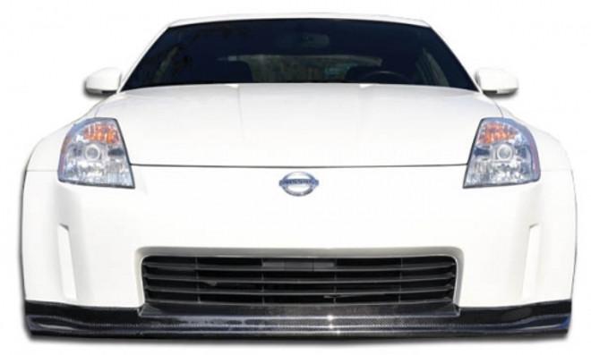Carbon Creations N-1 Front Lip Under Spoiler Air Dam -  03-05 Nissan 350Z