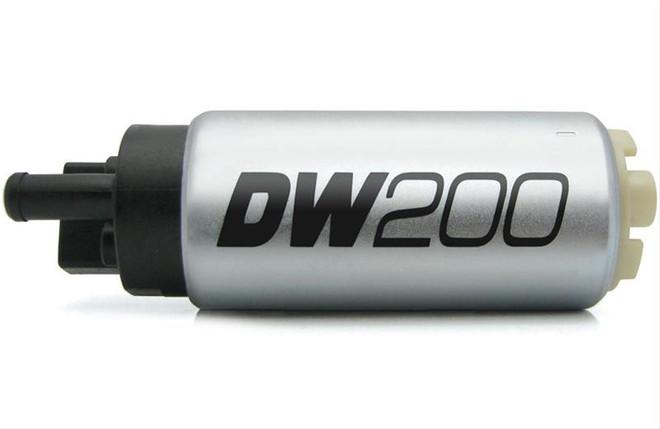 DeatschWerks DW200 In-Tank Fuel Pump - 03-06 Mitsubishi EVO 8/9