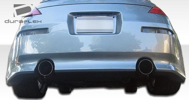Duraflex 1-Piece V-Speed Rear Bumper Cover - 03-08 Nissan 350Z