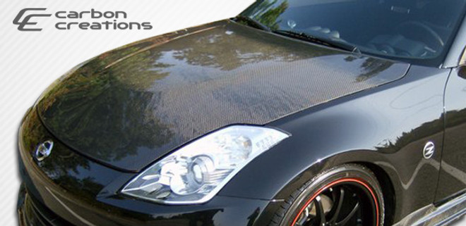 Carbon Creations OEM style Hood  - 03-09 Nissan 350Z