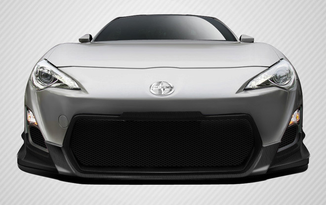 Carbon Creations 1-Piece TD3000 Front Lip Under Spoiler Air Dam - 13-16 Scion FR-S