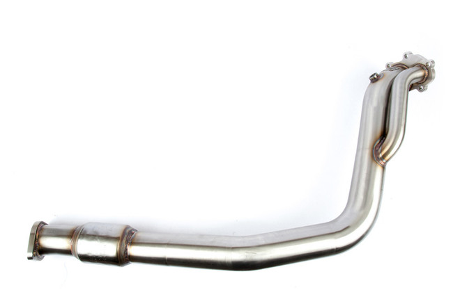 "Grimmspeed 3"" Catted Divorced Downpipe - 2008+ Subaru WRX/STI"