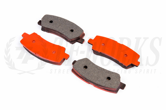 G-LOC R8 Rear Brake Pads - 2015+ S550 Ford Mustang All Models