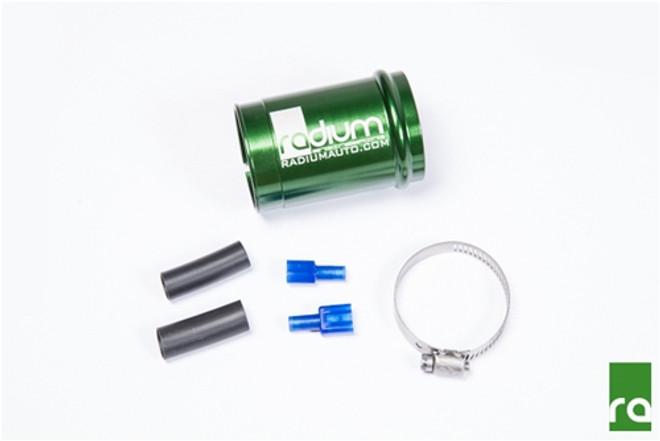 Radium Fuel Pump Install Kit for AEM 50-1200 E85 - BMW E46 3-Series (pump included)
