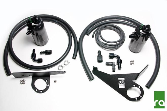 Radium Engineering Dual Catch Can Kit - 00-05 Honda S2000