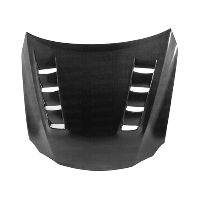 Seibon TSII-Style Carbon Fiber Hood - 06-12 Lexus IS250/350 Incl. Convertible