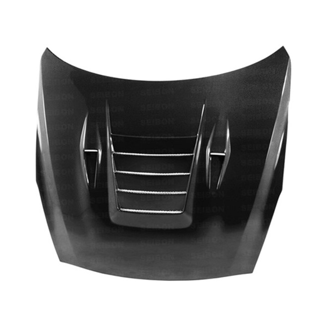 Seibon ES Dry Carbon Fiber Hood - 09-15 Nissan GTR R35