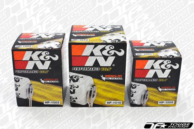 K&N Premium Wrench-Off Race Oil Filter - S13 SR20DET