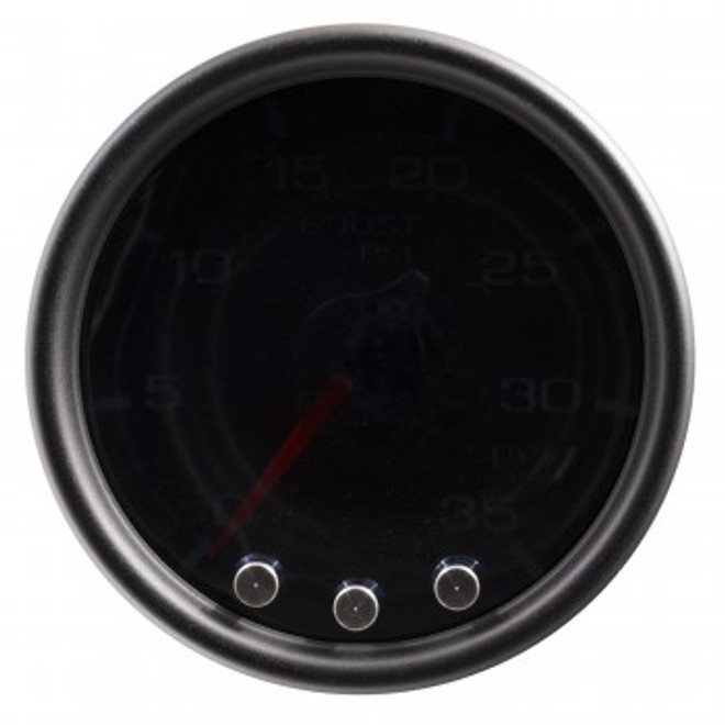 AutoMeter Spek-Pro Smoked - Boost/Turbo 52mm