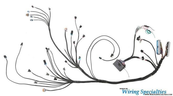 WIRING SPECIALTIES PRO HARNESS - E30 2JZ NON VVTI
