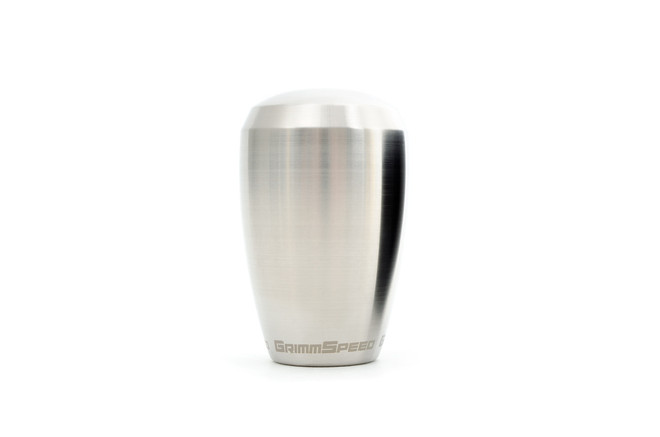 GRIMMSPEED SHIFT KNOB STAINLESS STEEL - SUBARU