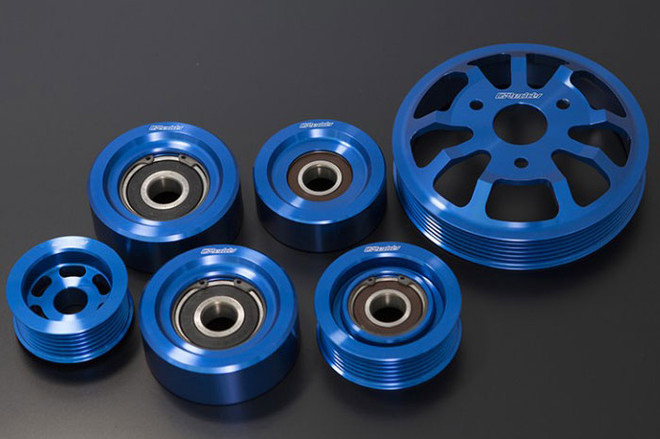 GReddy Aluminum Pulley Kit - Scion FRS / Subaru BRZ