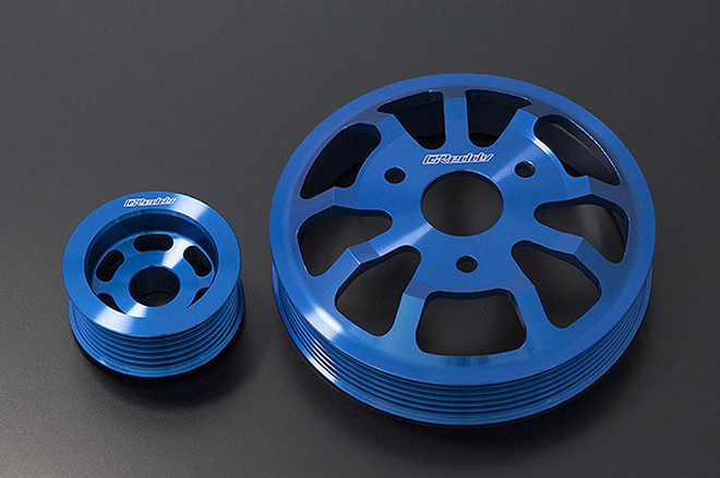 GReddy Aluminum Pulley 2pc Set - Scion FRS/ Subaru BRZ