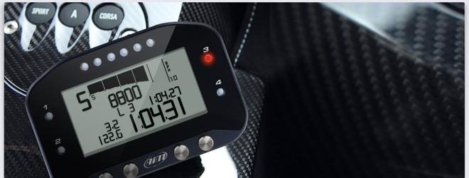 AiM G-Dash, Digital Display only for EVO4