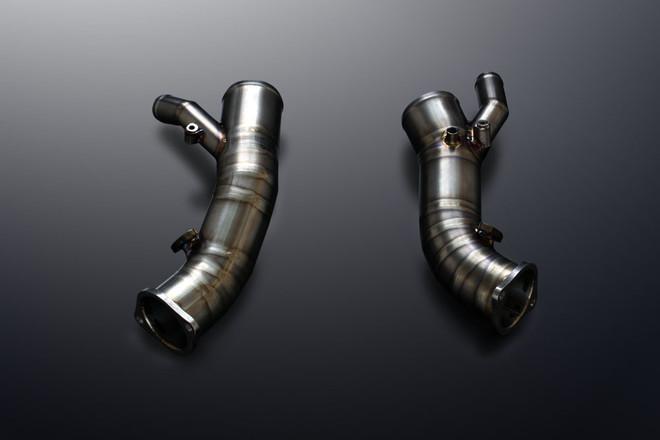 MINES - Titanium Suction Pipe Kit (R35 GTR)