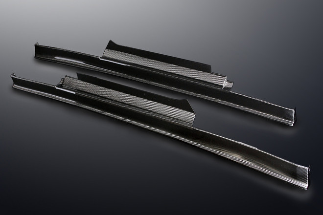 Mine's Carbon Side Step - R35 GT-R