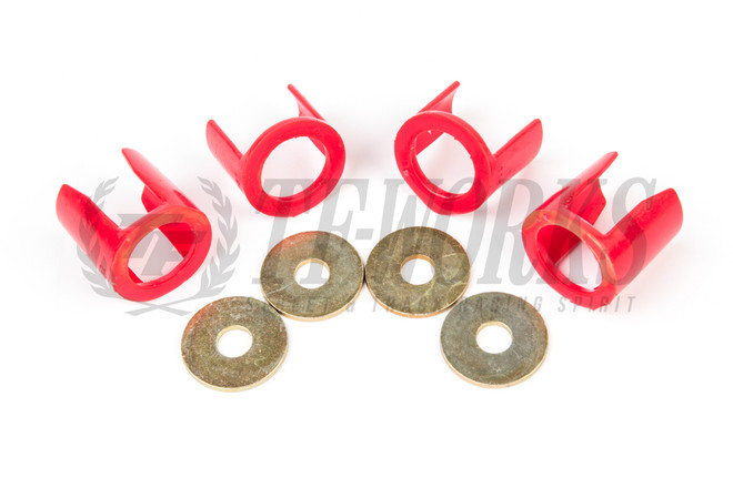 Energy Suspension S13 Rear Subframe Insert Set
