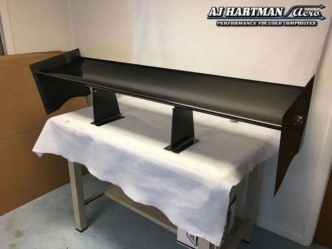 AJ Hartman Aero E46 Trunk Mount Wing Kit