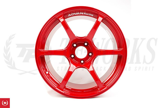 Advan RGIII RG3 18x10.5 +25 5x114 Racing Red