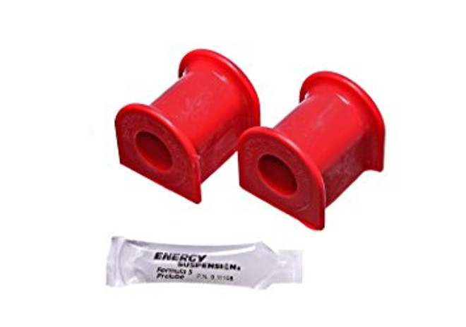 Energy Suspension Red Rear Sway Bar Bushing Set 22mm - 15-17 Ford Mustang GT V8 5.0L