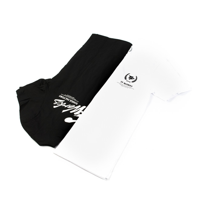 "TF ""Splash"" Logo T-Shirt - WHITE"
