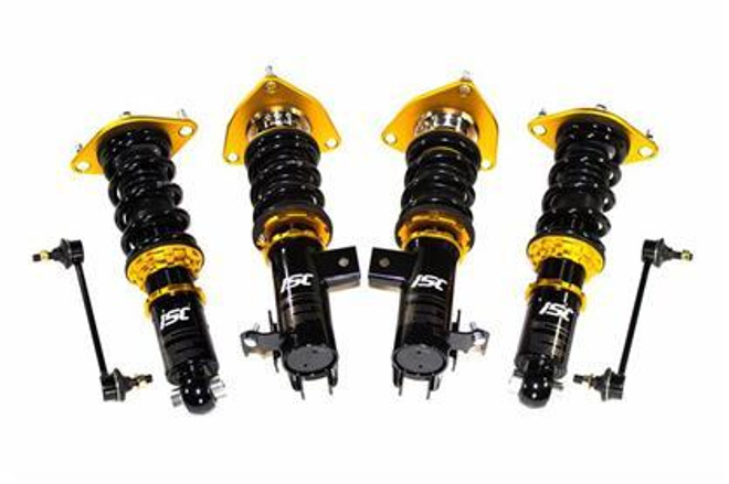 ISC Suspension Track/Race N1 Coilovers - 15-17 Ford Mustang GT V8 5.0L