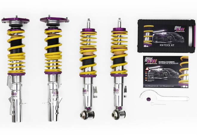 KW Clubsport 2-Way Coilover Kit - 15-17 Ford Mustang GT / Ecoboost / V6
