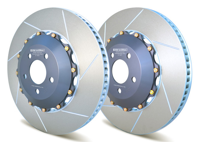 Girodisc 2-Piece Floating Rotors for S550 Mustang GT with Performance Package - Front Pair