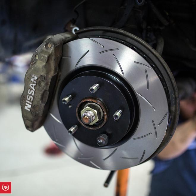 *BREMBO CALIPERS* TF BNR32 Skyline GTR Track Brake Package - DBA / G-Loc / Goodridge / Motul