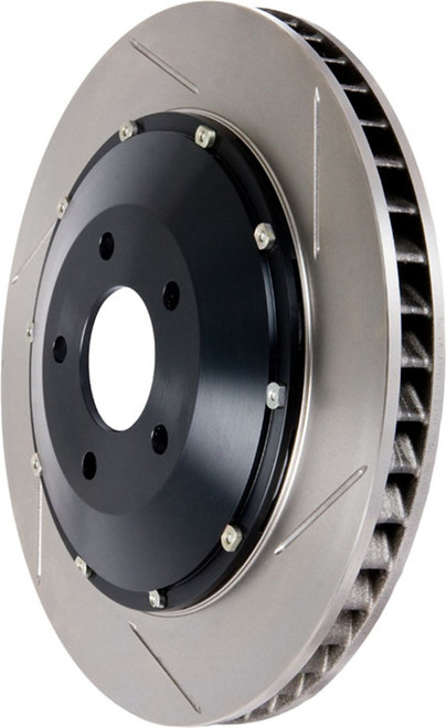 StopTech Front Right Slotted Bare Iron Aero-Rotor Kit - 00-03 Honda S2000